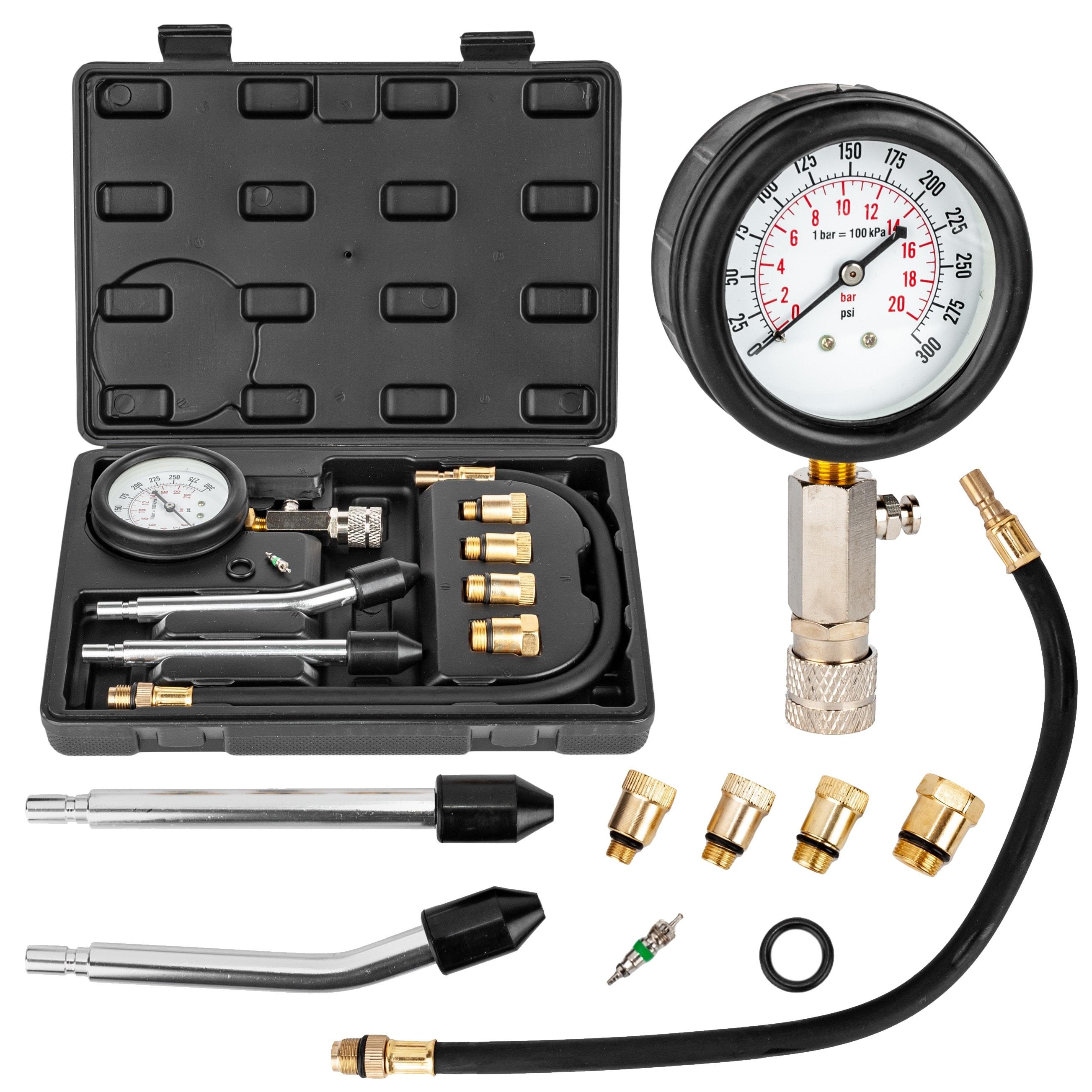 Image of Tester ciśnienia miernik sprężania benzyna 8 sztuk geko
