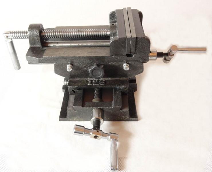 Image of Imadło maszynowe krzyżowe dwuosiowe 125mm geko