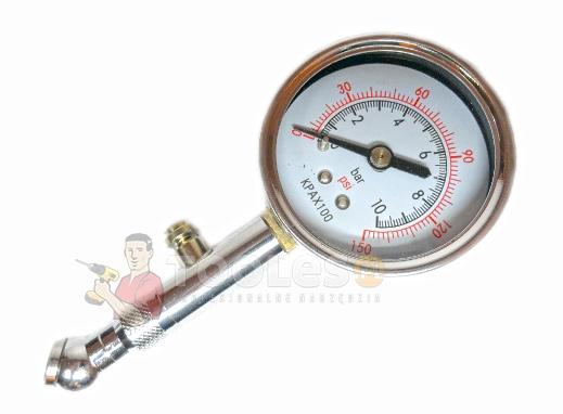 Image of Ciśnieniomierz do opon z manometrem 10 bar carpoint