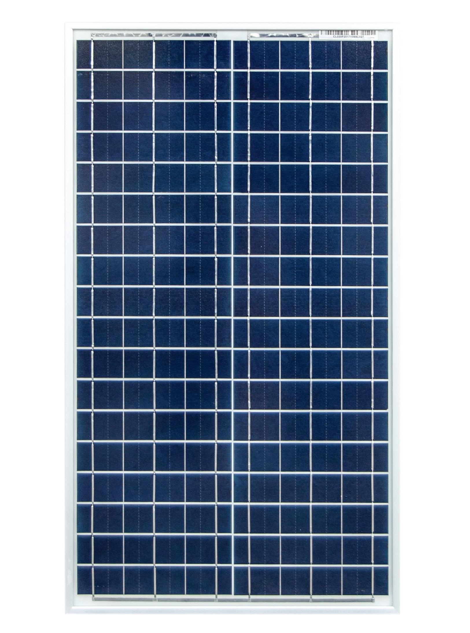 Image of Panel solarny słoneczny o mocy 30w 12v celline cl030-12p