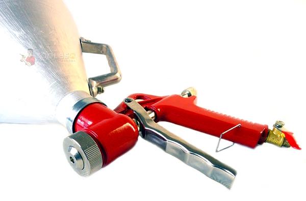 Image of Pistolet do tynkowania i malowania 5l pneumatyczny (metal) geko