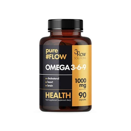 Image of 3flow solutions omega 3-6-9 1000mg pureflow - 90caps.