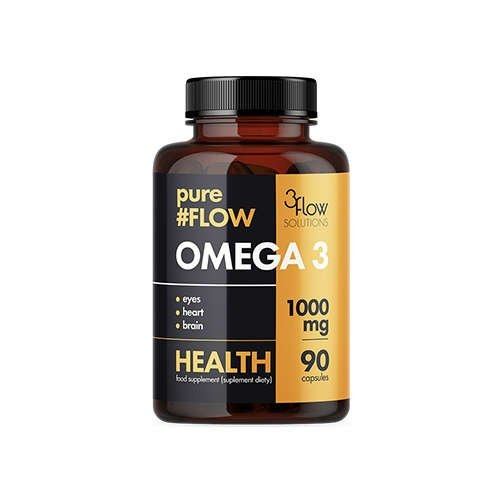 Image of 3flow solutions omega 3 1000mg pureflow - 90caps.