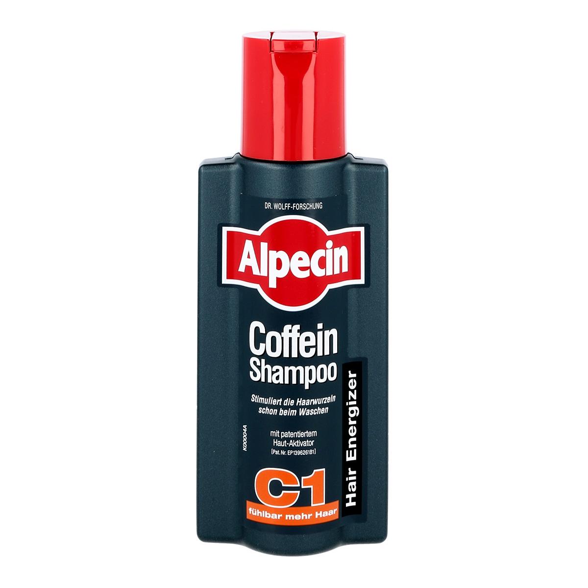 Image of Alpecin energizer c1 szampon z kofeiną dla mężczyzn