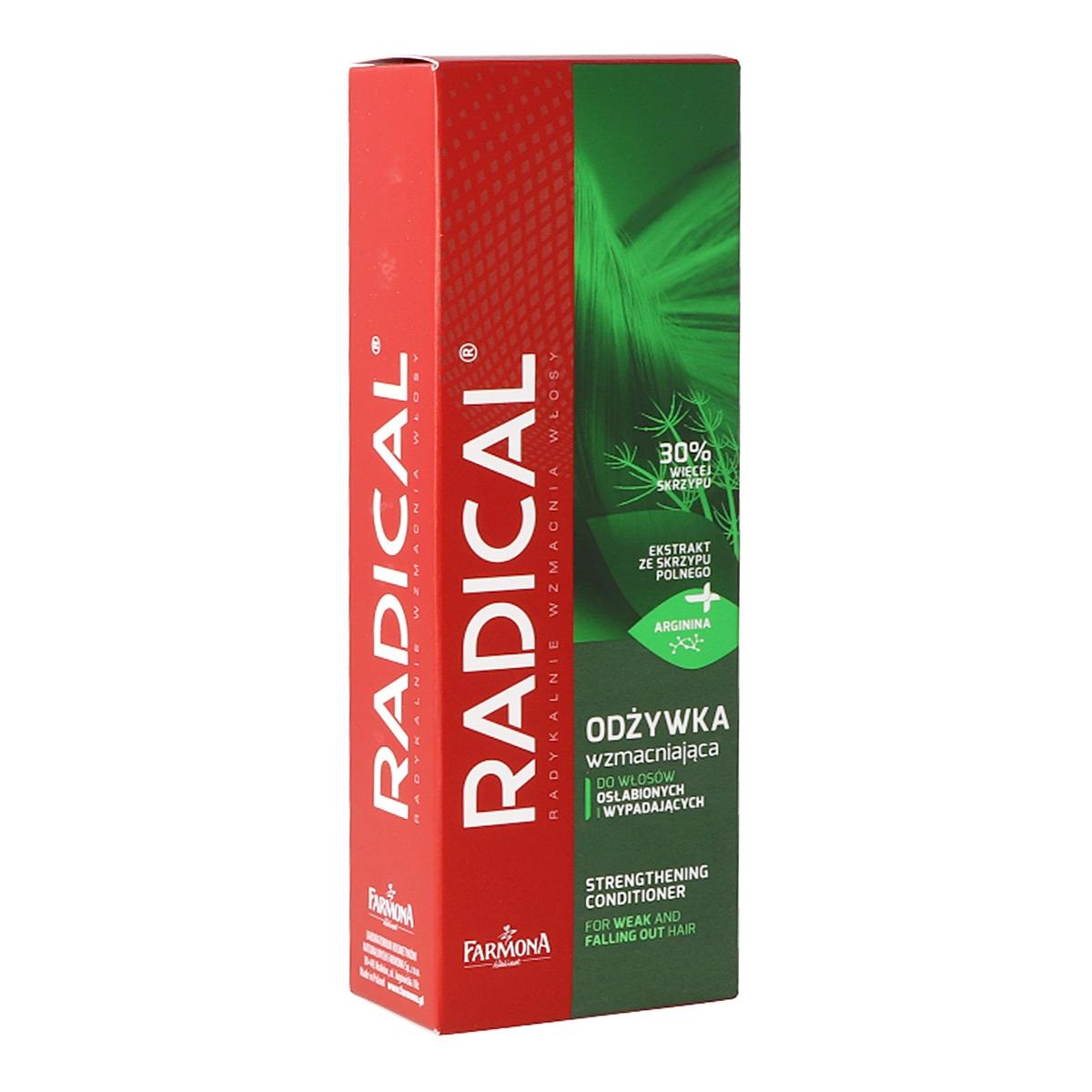 Image of Farmona radical odżywka wzmacniająca do włosów osłabionych i wyp