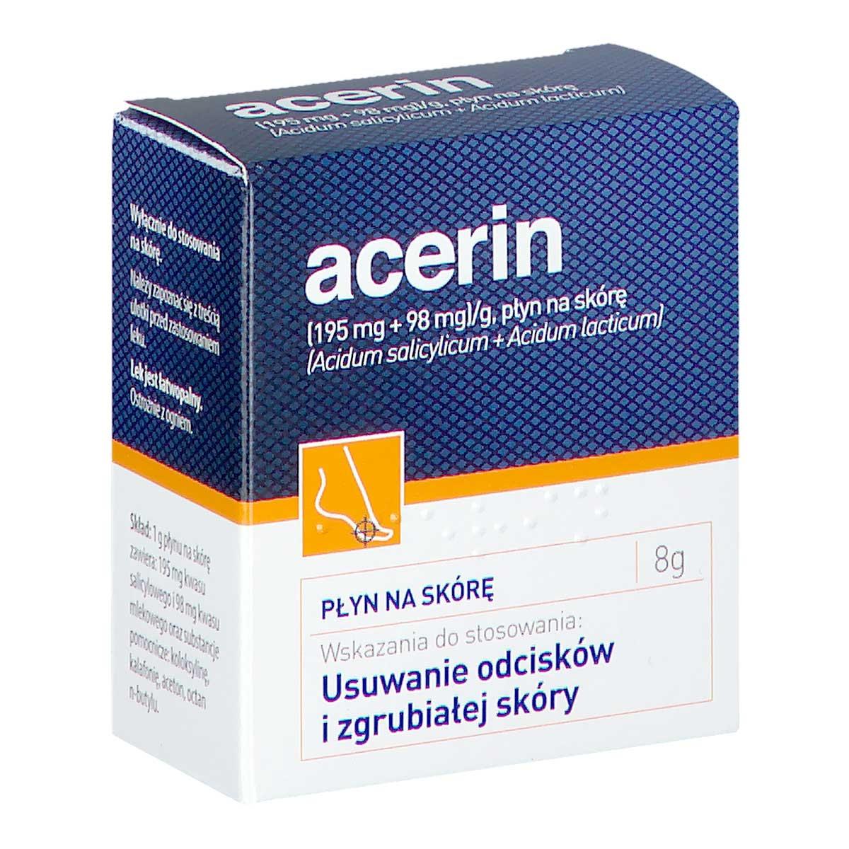 Image of Acerin płyn na skórę