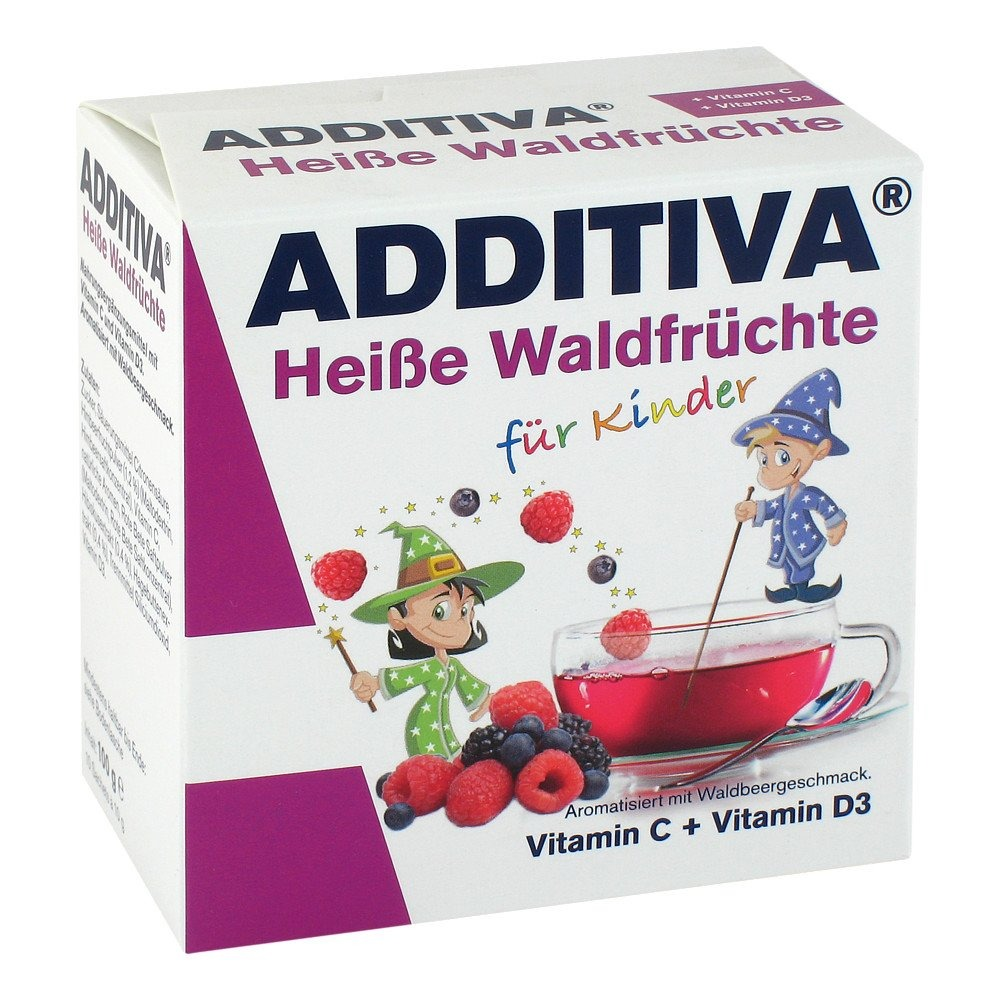 Image of Additiva heisse waldfrüchte pulver