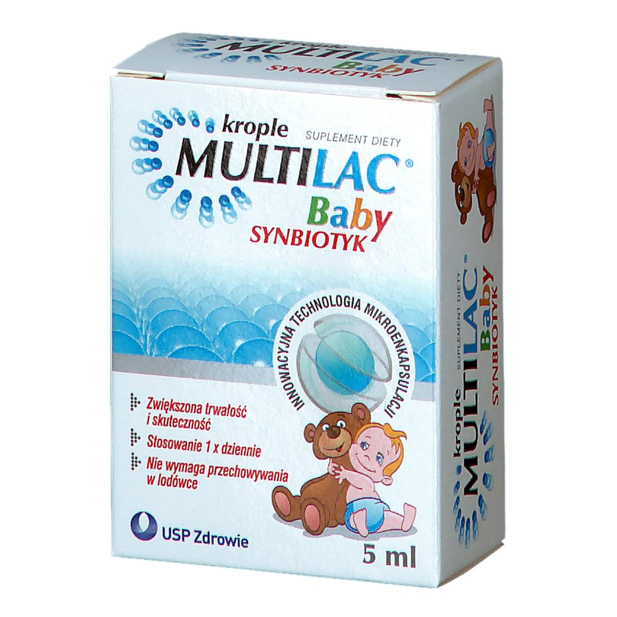 Multilac baby synbiotyk krople