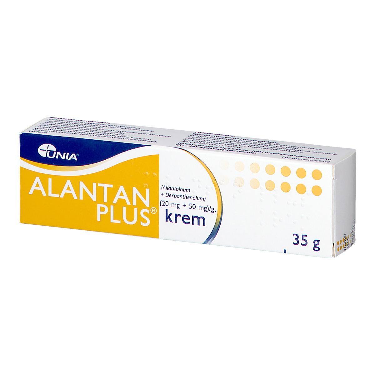 Image of Alantan plus krem (20mg+50mg/g)