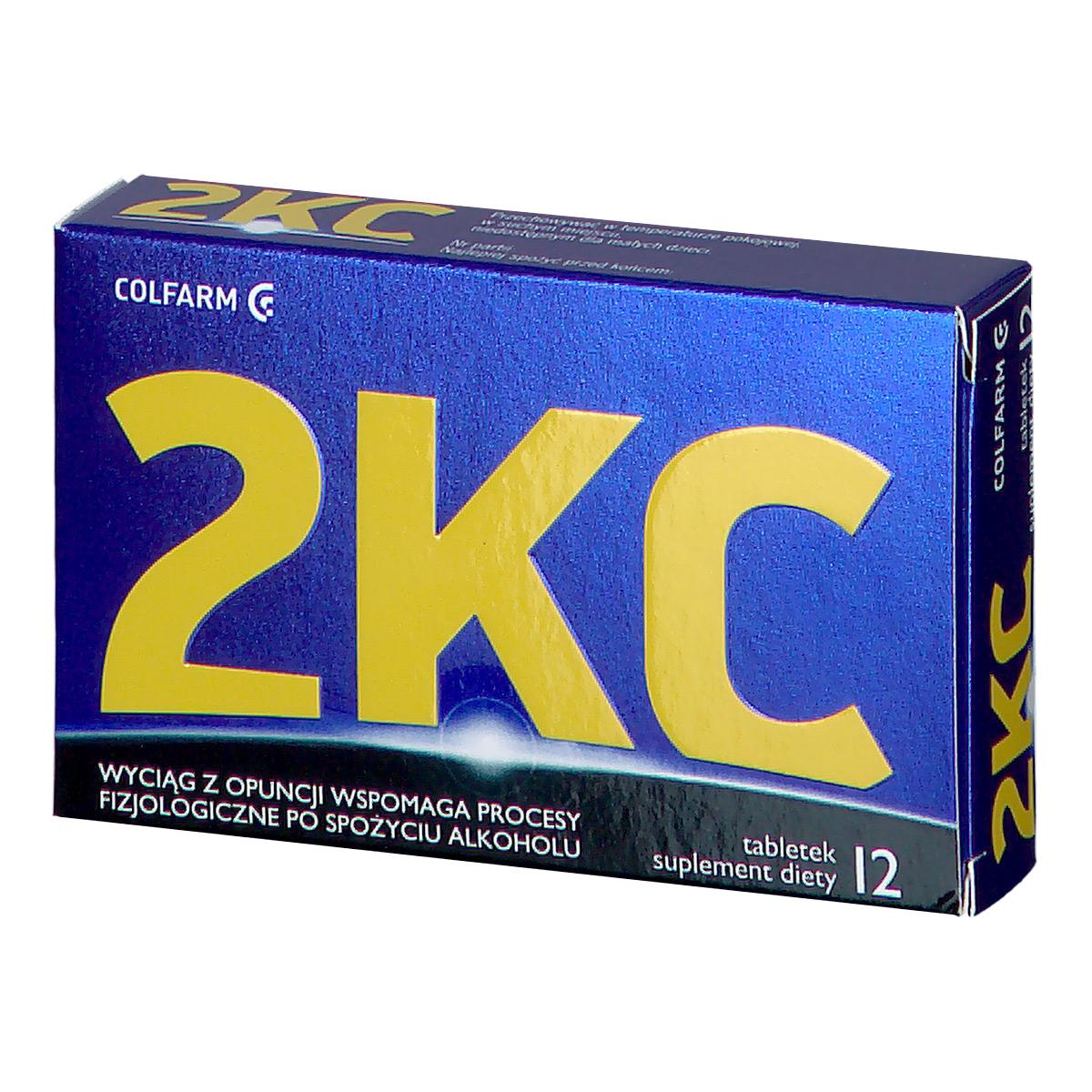 Image of 2 kc tabletki