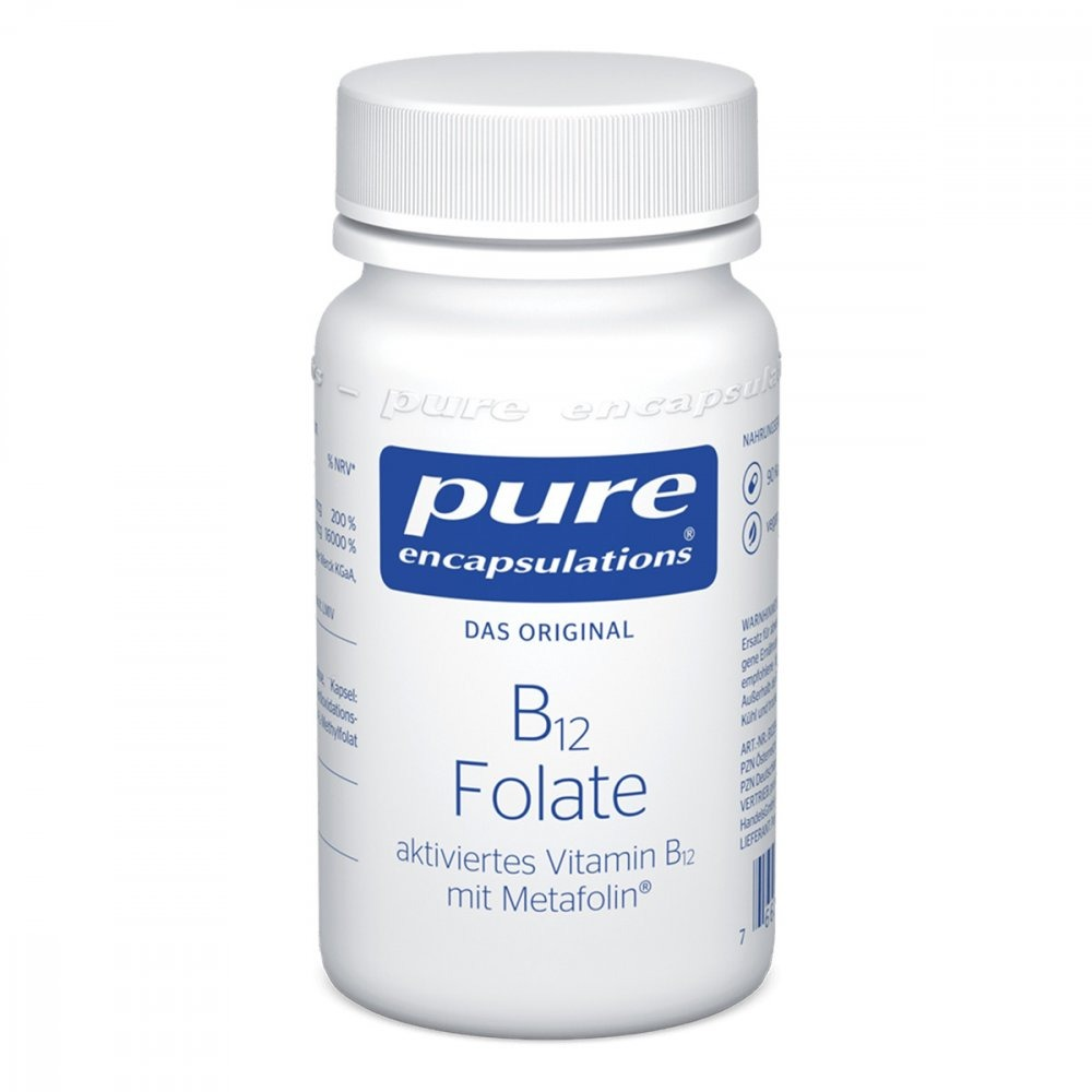 Pure encapsulations b12 folate kapsułki