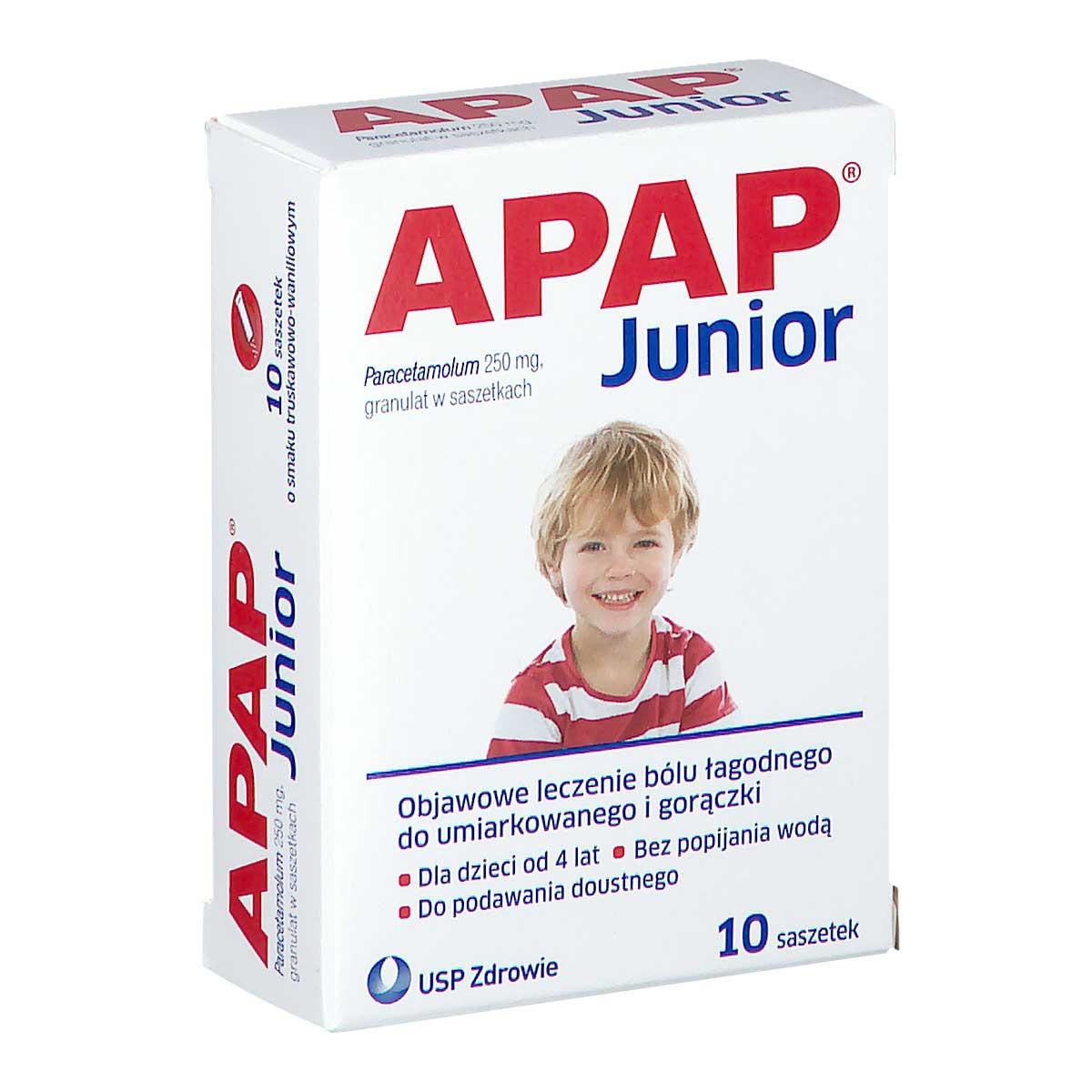 Image of Apap junior saszetki