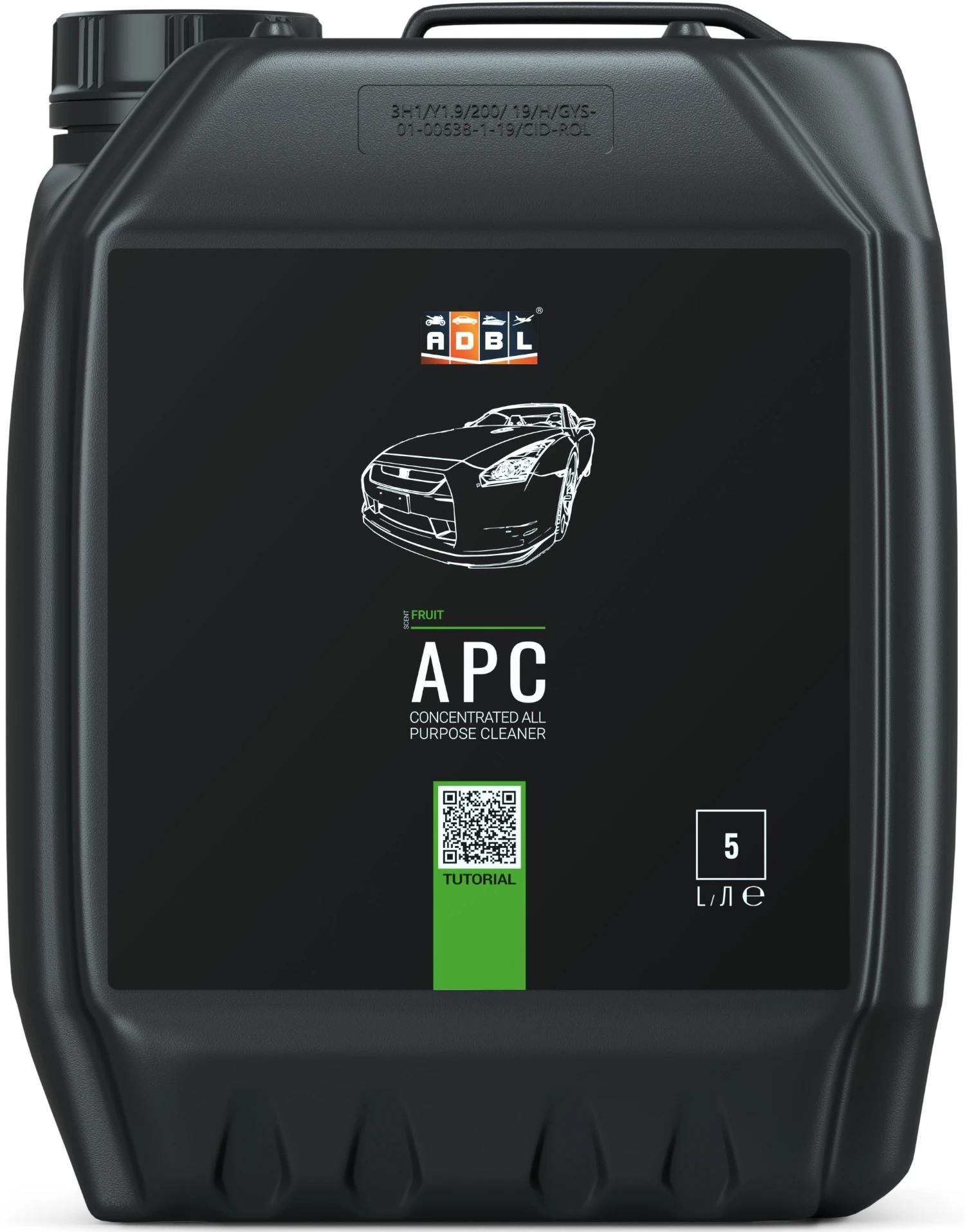 Image of Adbl apc – uniwersalny środek do czyszczenia różnych powierzchni, koncentrat 5l