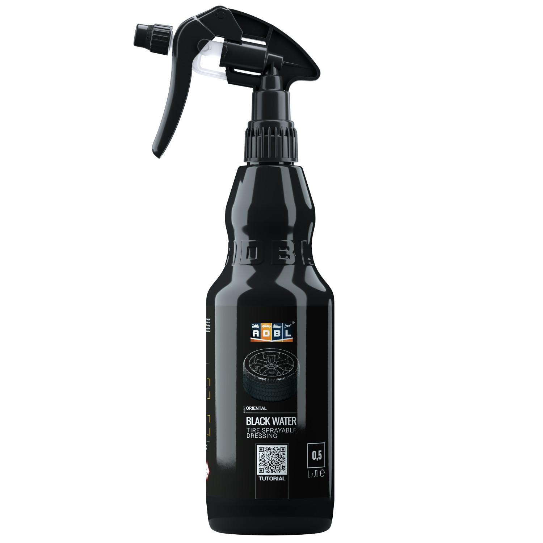 Image of Adbl black water – płynny dressing do opon, błyszczące wykończenie 500ml