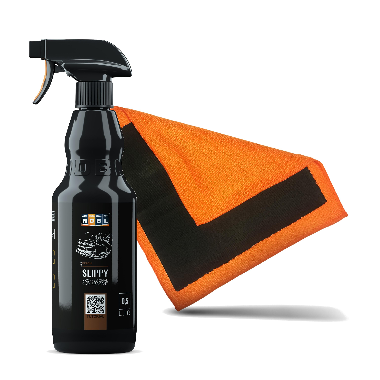 Image of Adbl clay towel + adbl slippy – lubrykant do glinki, wysoki poślizg, przyjemny zapach 500ml