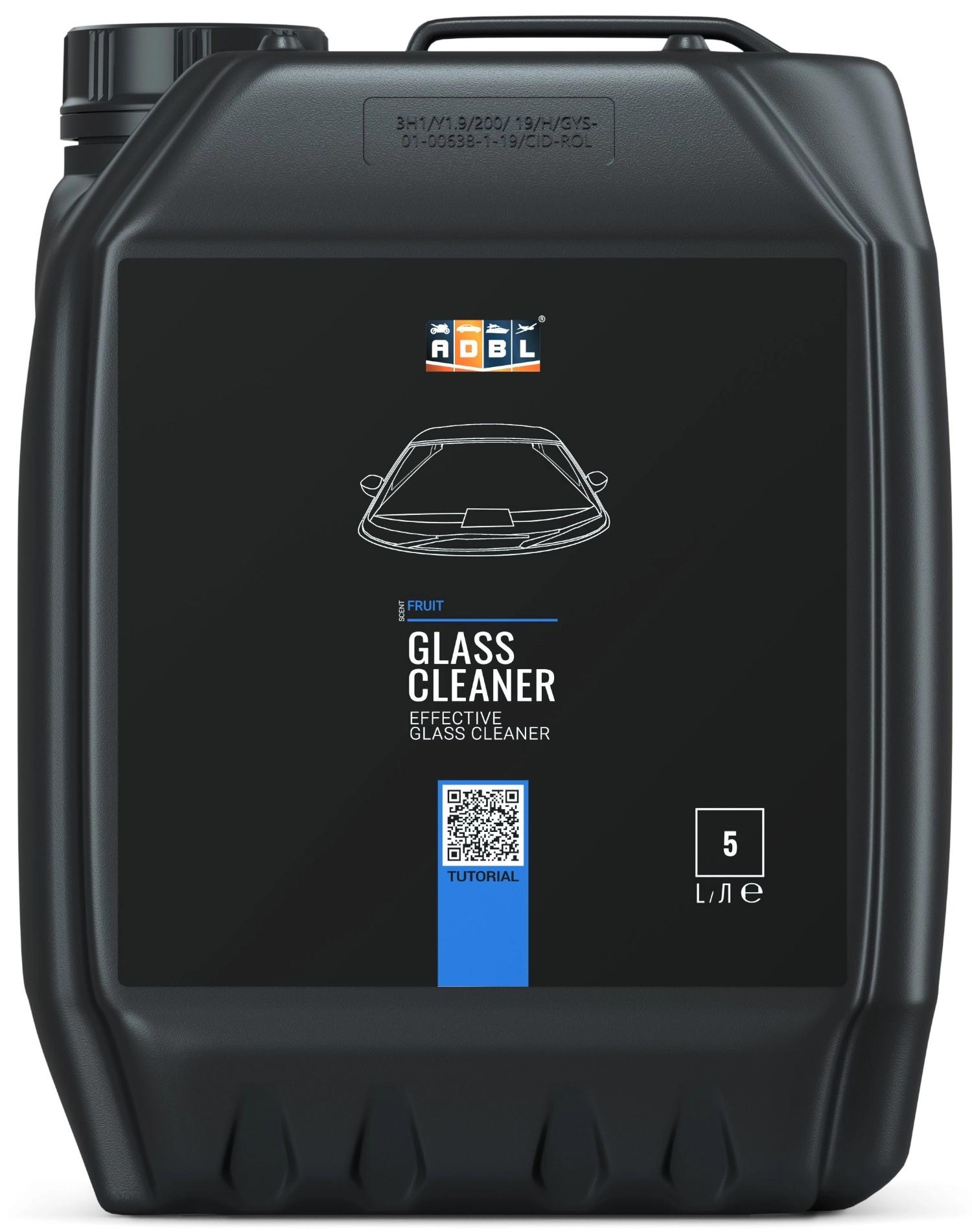 Image of Adbl glass cleaner – skuteczny płyn do mycia szyb i szkła 5l