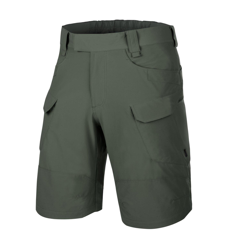 "Image of Spodenki helikon outdoor tactical shorts 11"" - versastretch lite - olive drab - s/regular (sp-otk-vl-32-b03)"