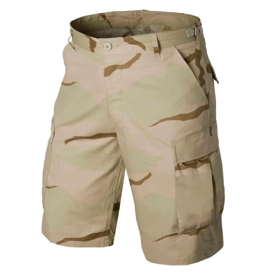 Image of Krótkie spodnie bdu - cotton ripstop - us desert - xs (sp-bdk-cr-05-b02)