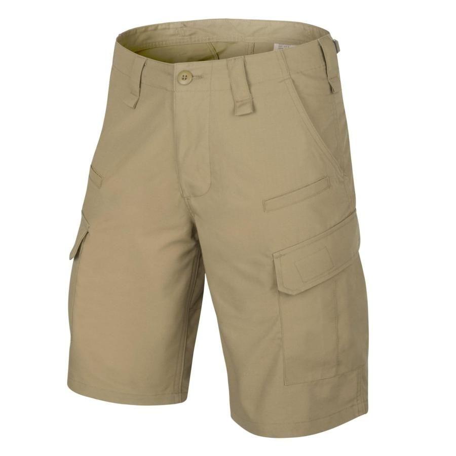 Image of Krótkie spodnie cpu - cotton ripstop - beż-khaki - xs (sp-cpk-cr-13-b02)
