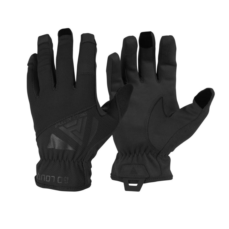 Image of Direct action light gloves - s (gl-lght-pes-blk-b03)