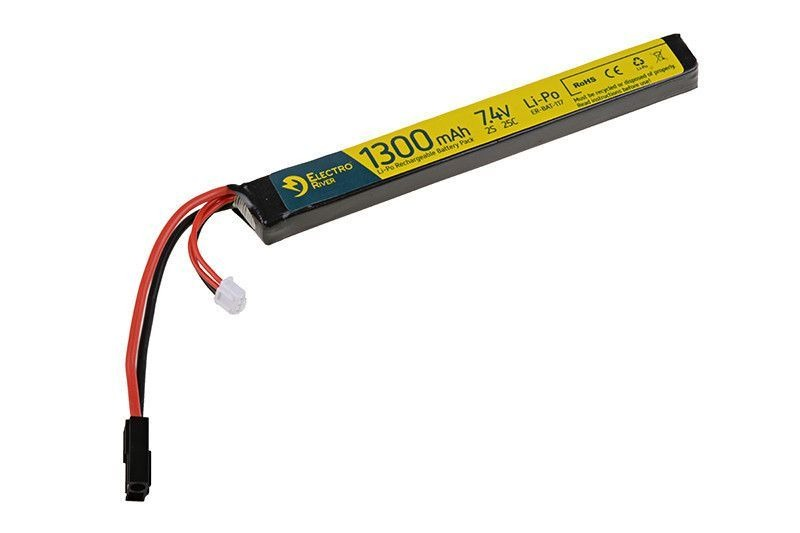 Image of Akumulator lipo 7,4v 1300mah 25/50c (elr-06-008314)