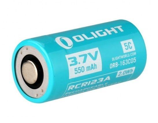 Image of Akumulator 3,7v olight rcr123,imr16340 550 mah