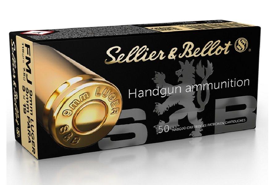 Image of Amunicja kal.9mm luger s&b 7,5g fmj un0012 1.4s