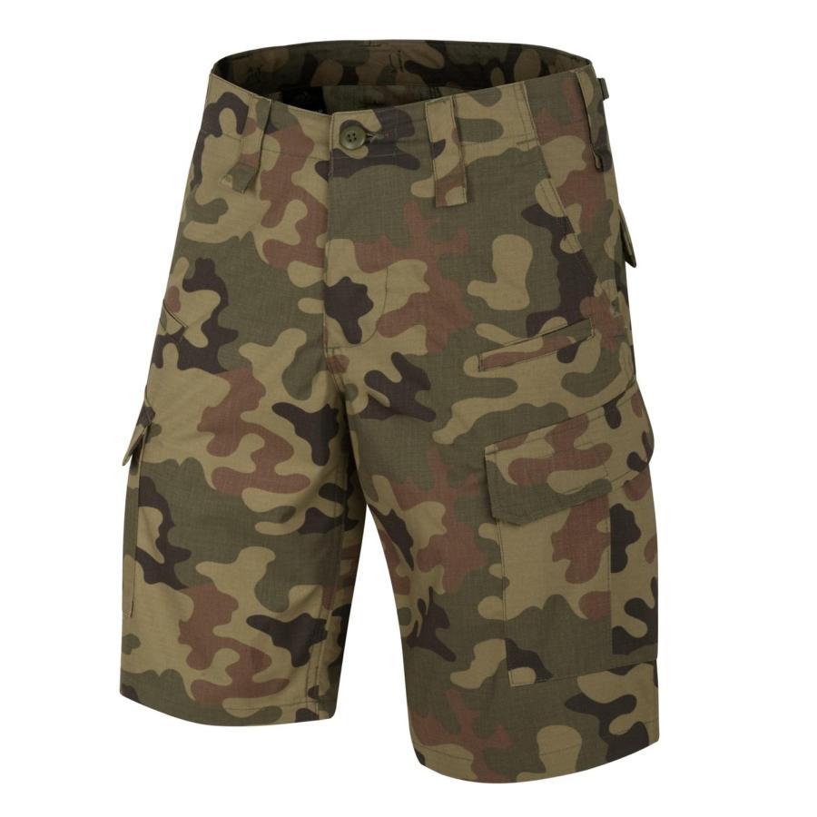 Image of Krótkie spodnie cpu - polycotton ripstop - pl woodland - xs (sp-cpk-pr-04-b02)