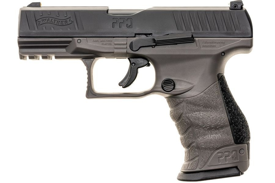 Image of Pistolet na kule gumowe i pieprzowe walther ppq m2 military gray kal.43 (2.4759)