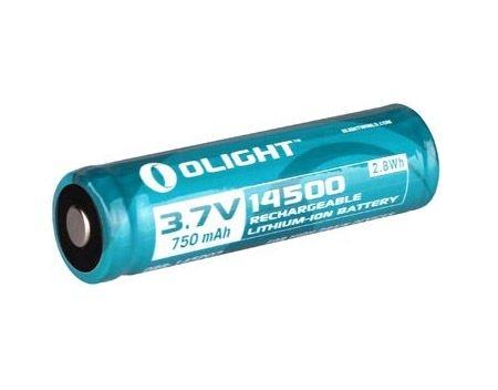 Image of Akumulator 3,7v olight 14500 750 mah