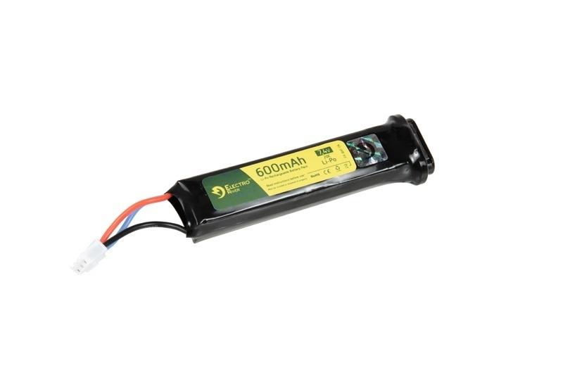 Image of Akumulator lipo 7,4v 600 mah 20c - aep (gf.024601)