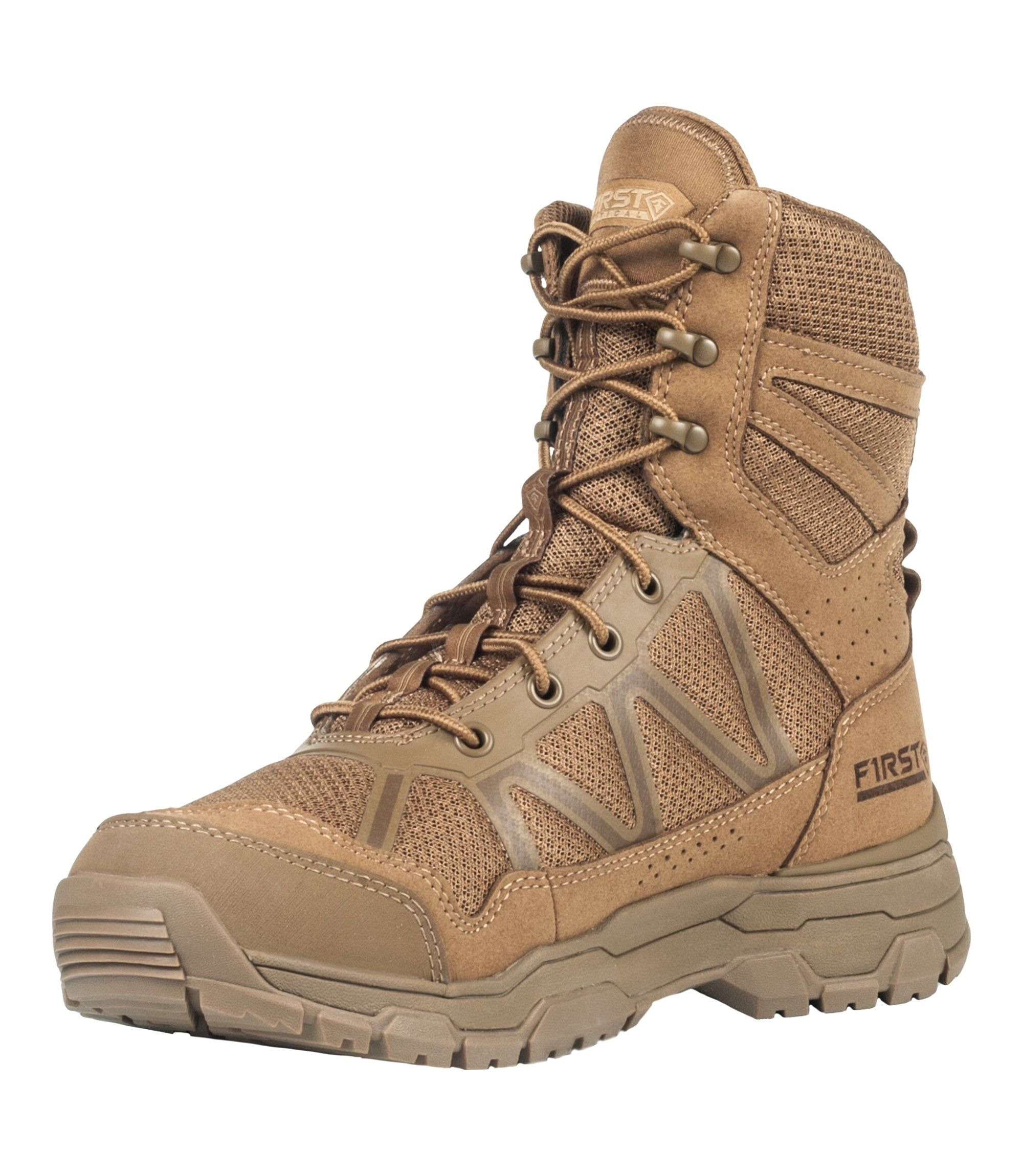 """Image of Buty first tactical m's 7"""" operator boot coyote 165010 - rozmiar (a) 41 (u1t/165010 060 7 - 41)"""