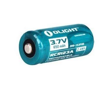 Image of Akumulator 3,7v olight rcr 123a 650 mah