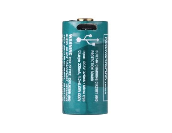 Image of Akumulator 3,7v olight rcr123a/16340 650 mah (orbc-163co6)