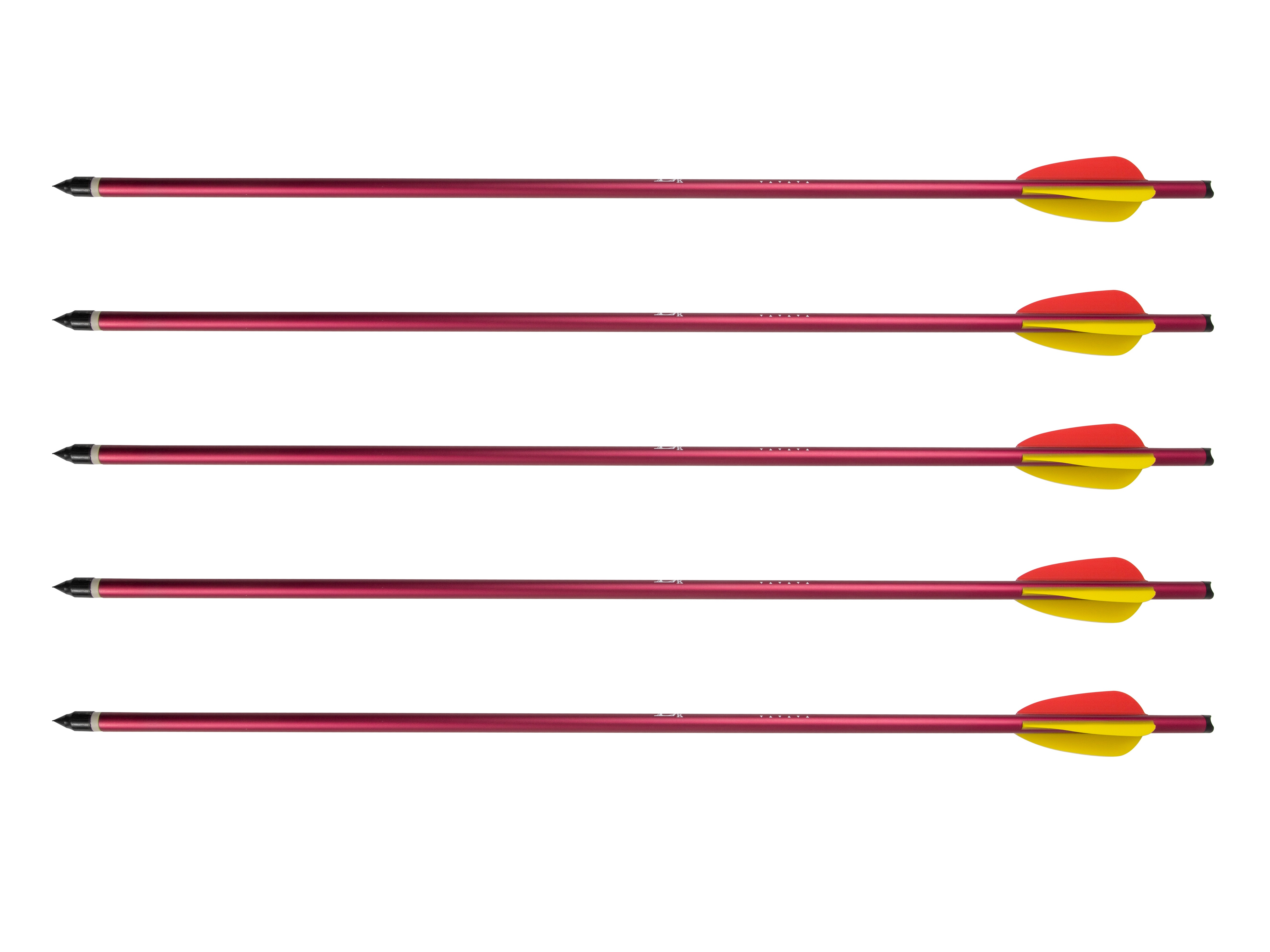 "Image of Bełt poe lang aluminiowy 20"" 5 szt. czerwony (076-229)"