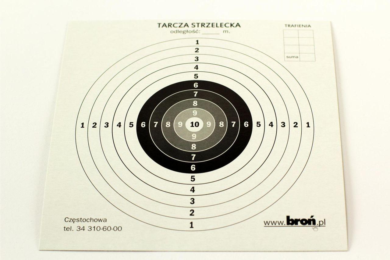 Image of Tarcze papierowe 17x17 cm 100 szt. (3.1717)