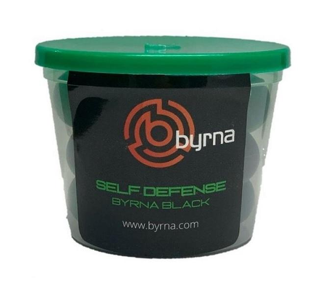 Image of Pistolet na kule gumowe i pieprzowe byrna hd green-zielony kal.68 co2 8g zestaw (bk68300-grn)