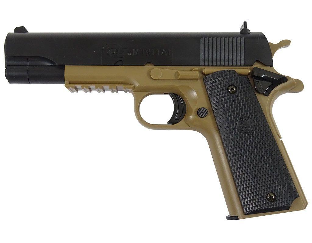 Image of Pistolet asg cybergun colt 1911 tan (180123)