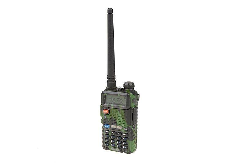 Image of Radiostacja ręczna dwukanałowa baofeng camo uv-5r (vhf/uhf) (bao-31-015147-00)