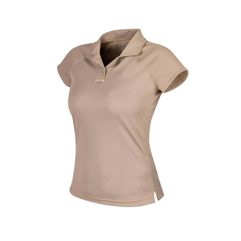 Image of Koszulka termoaktywna polo damska helikon utl topcool lite beż xs (pd-utw-tl-13-b02)