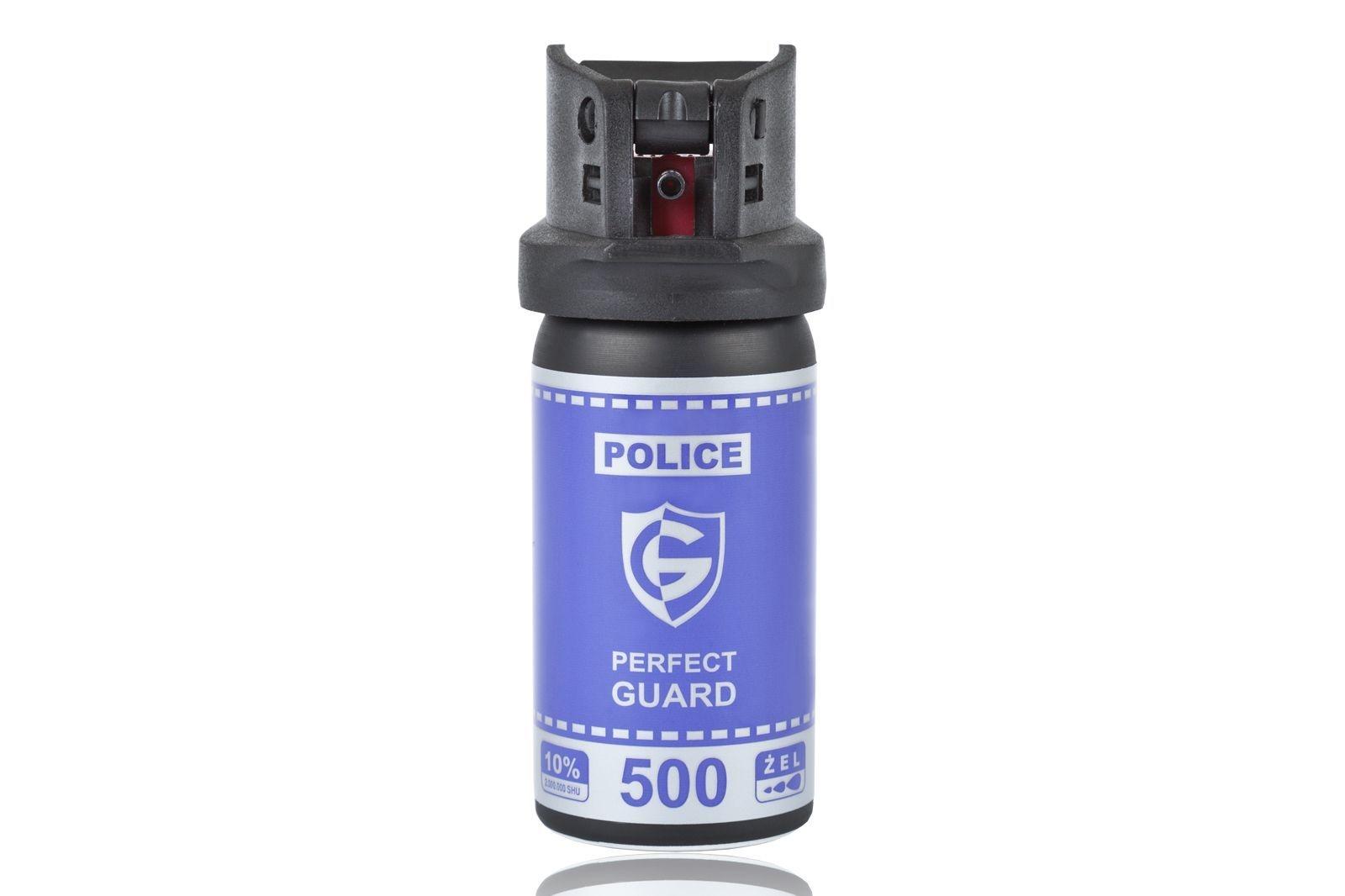 Image of Gaz pieprzowy police perfect guard 500 - 50 ml. żel (pg.500)