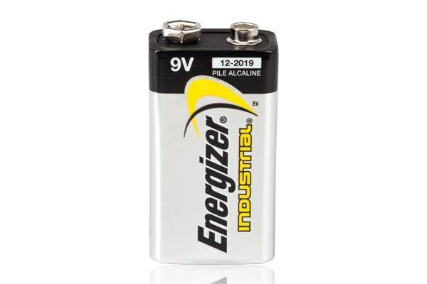Image of Bateria alkaliczna energizer industrial 9v (do paralizatorów)