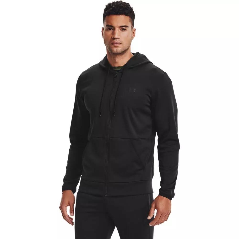 Image of Bluza męska under armour fleece fz hoodie