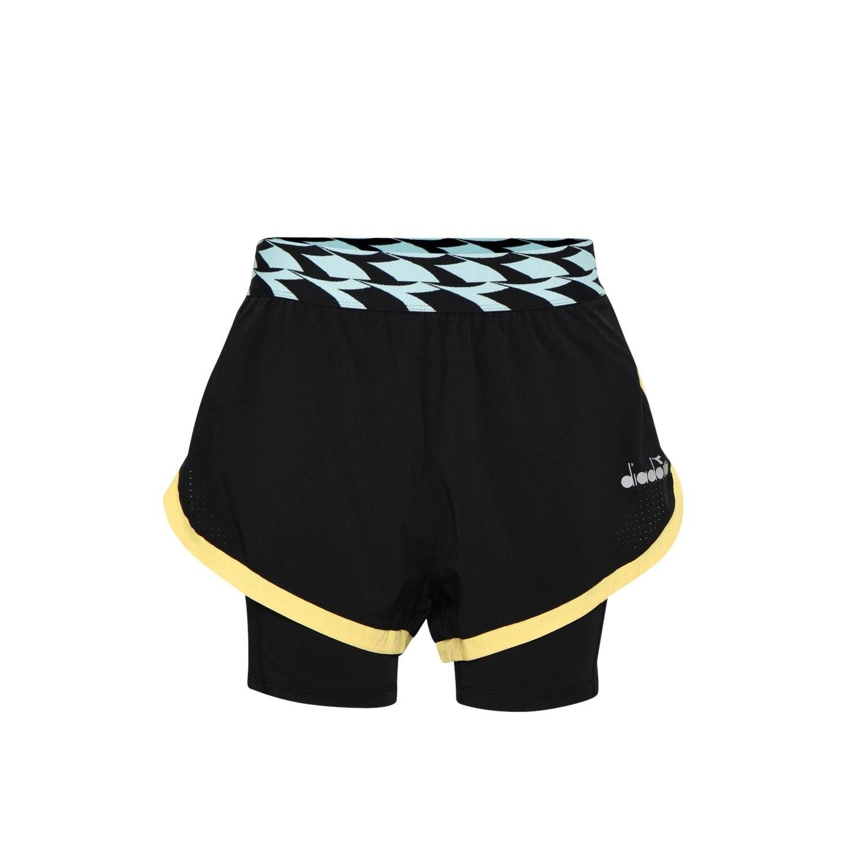 Image of Spodenki krótkie damskie diadora l. double layer shorts