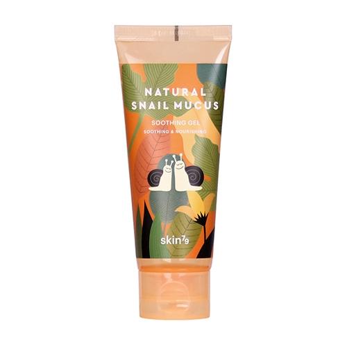Image of Skin79 kojący żel ze śluzem ślimaka natural snail mucus soothing gel 100g