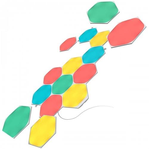 Image of Panele świetlne led nanoleaf shapes hexagons, zestaw 15 sztuk