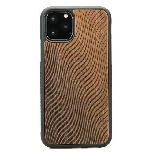 Image of Drewniane etui bewood iphone 11 pro fale merbau