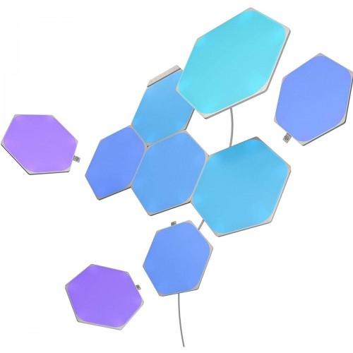 Image of Panele świetlne led nanoleaf shapes hexagons, zestaw 9 sztuk