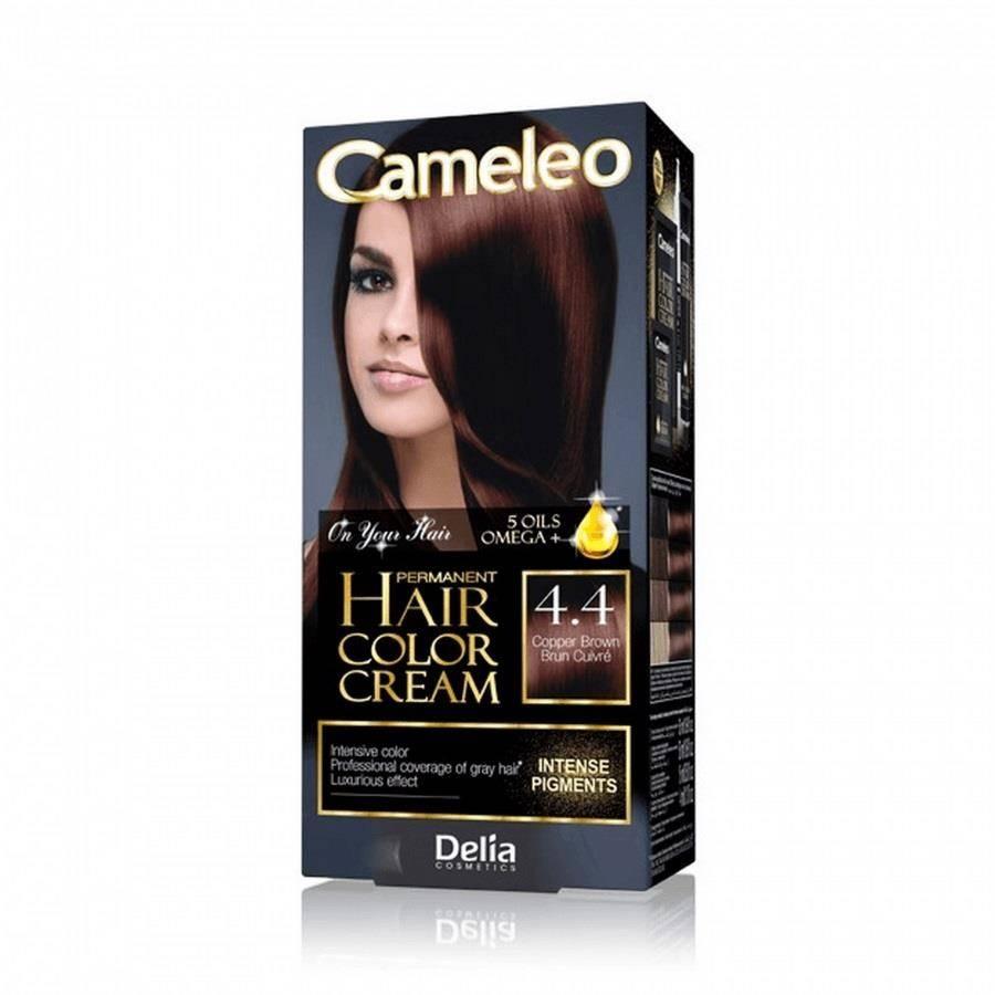 Omega permanent hair color cream trwale koloryzująca farba do włosów 4.4 copper brown