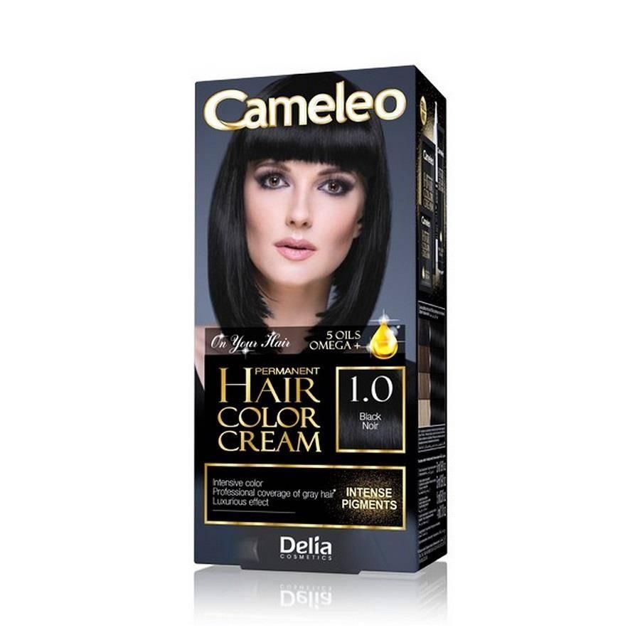 Omega permanent hair color cream trwale koloryzująca farba do włosów 1.0 black